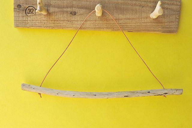 アイテムポストで買える「タオルハンガー(ヌメ皮・ナチュラル)」の画像です。価格は400円になります。