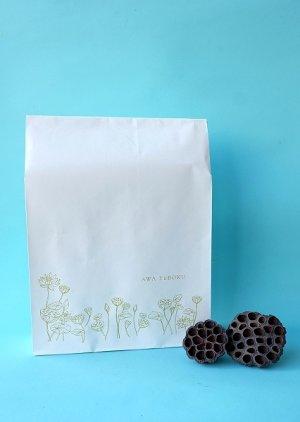 画像1: オリジナルペーパーバッグ「 lotus 」