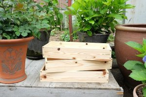 画像1: ガーデン用・トロ箱(小)