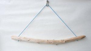 画像1: タオルハンガー(丸折・ブルー)
