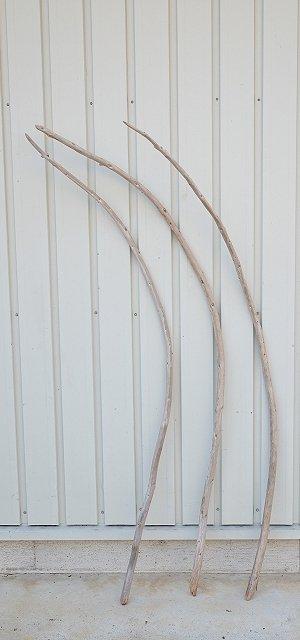 画像1: 棒流木3本セット